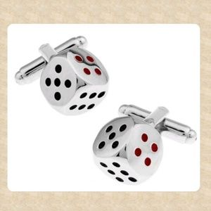 Other - Roulette Dice Cufflinks